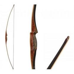 """White Feather Longbow Osprey Black 68"""""""